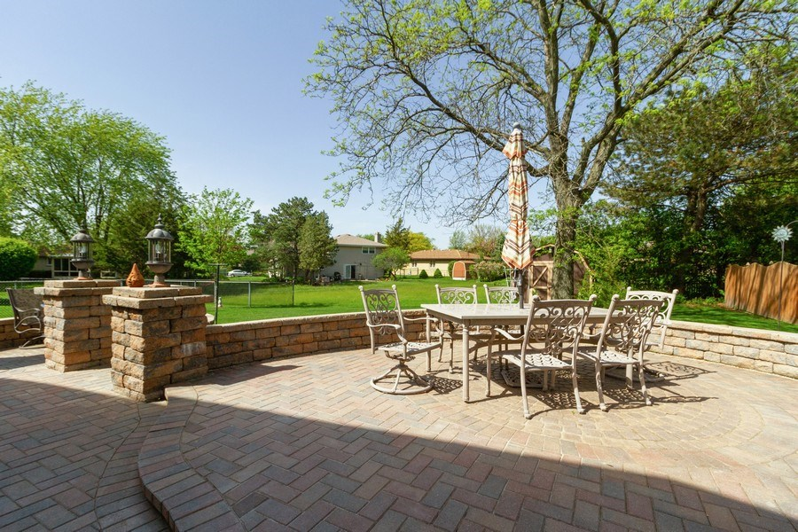 Real Estate Photography - 8438 Hollywood Drive, Orland Park, IL, 60462 - Patio