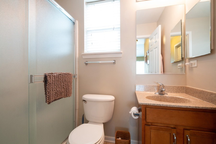 Real Estate Photography - 286 MACINTOSH Avenue, Woodstock, IL, 60098 - Master Bathroom