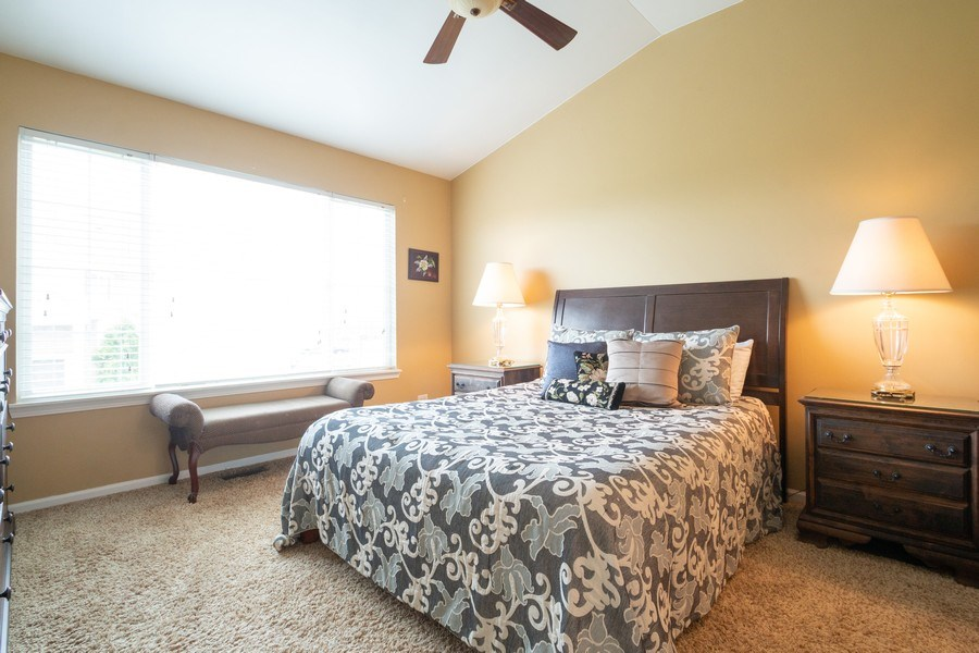 Real Estate Photography - 286 MACINTOSH Avenue, Woodstock, IL, 60098 - Master Bedroom