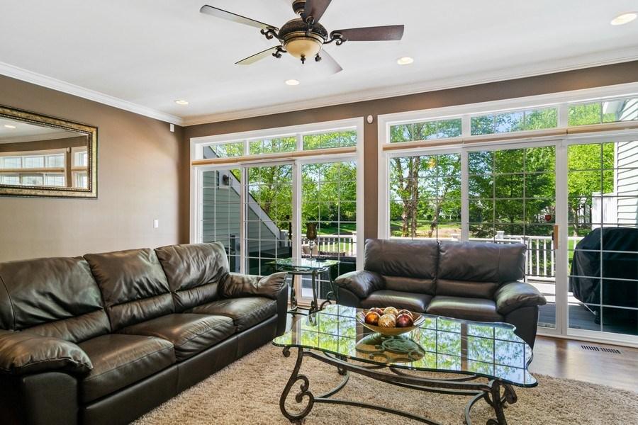 Real Estate Photography - 174 Partridge Lane, Bartlett, IL, 60103 - Living Room