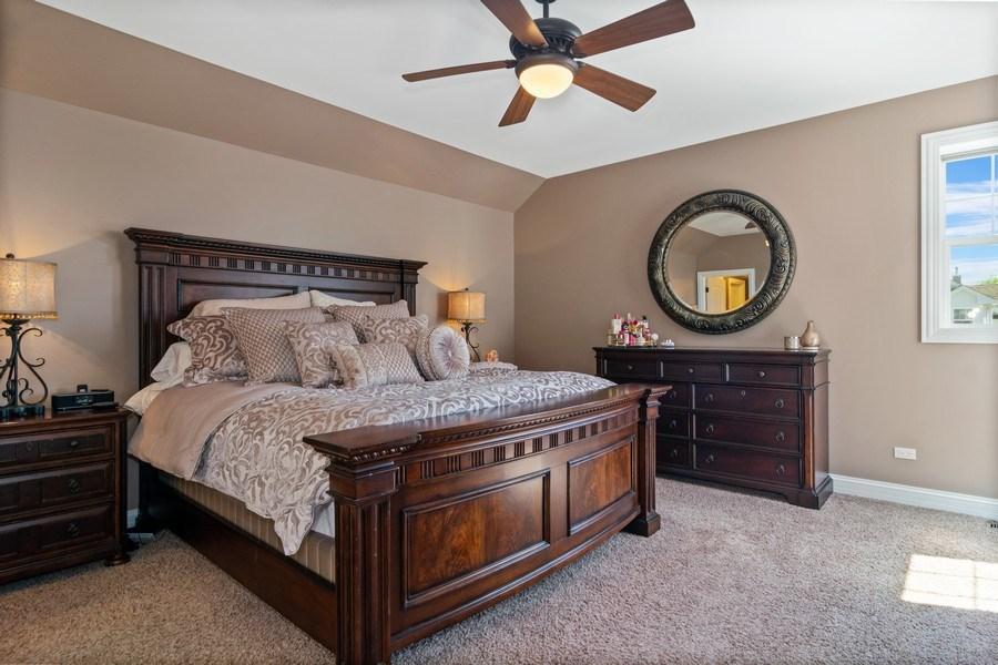 Real Estate Photography - 174 Partridge Lane, Bartlett, IL, 60103 - Master Bedroom
