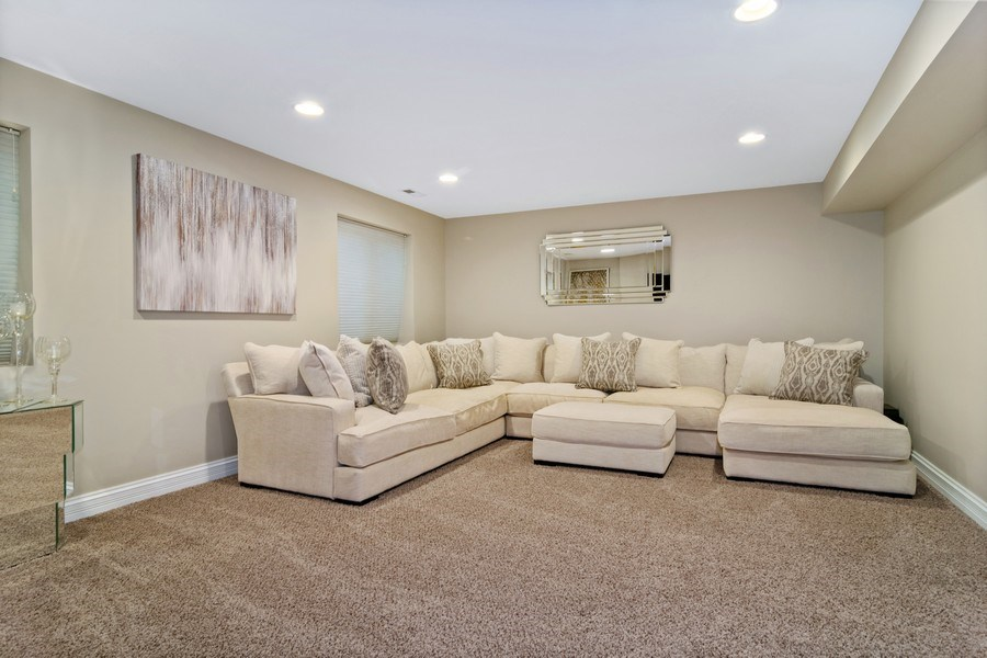 Real Estate Photography - 174 Partridge Lane, Bartlett, IL, 60103 - Family Room