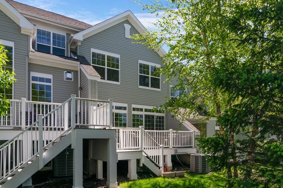 Real Estate Photography - 174 Partridge Lane, Bartlett, IL, 60103 - Rear View