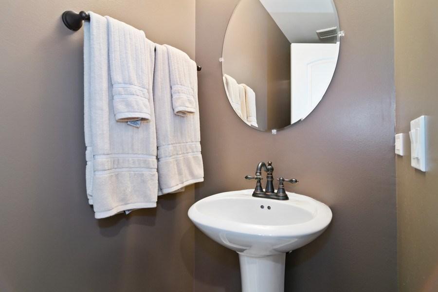 Real Estate Photography - 174 Partridge Lane, Bartlett, IL, 60103 - Half Bath
