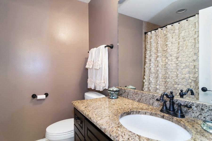 Real Estate Photography - 174 Partridge Lane, Bartlett, IL, 60103 - Full Bath upstairs