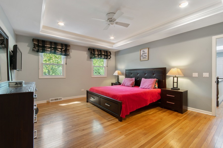 Real Estate Photography - 1513 Maple Hills Court, Naperville, IL, 60563 - Master Bedroom