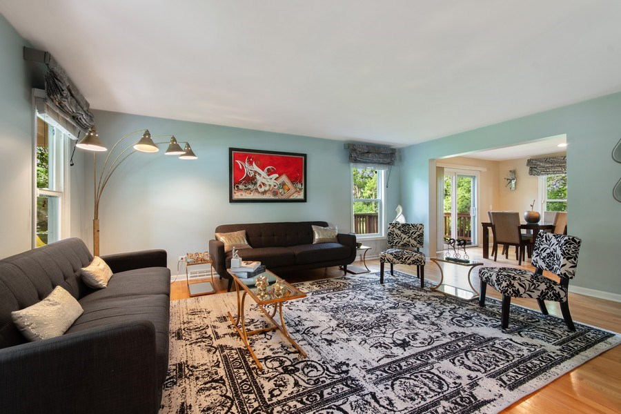 Real Estate Photography - 1513 Maple Hills Court, Naperville, IL, 60563 - Living Room