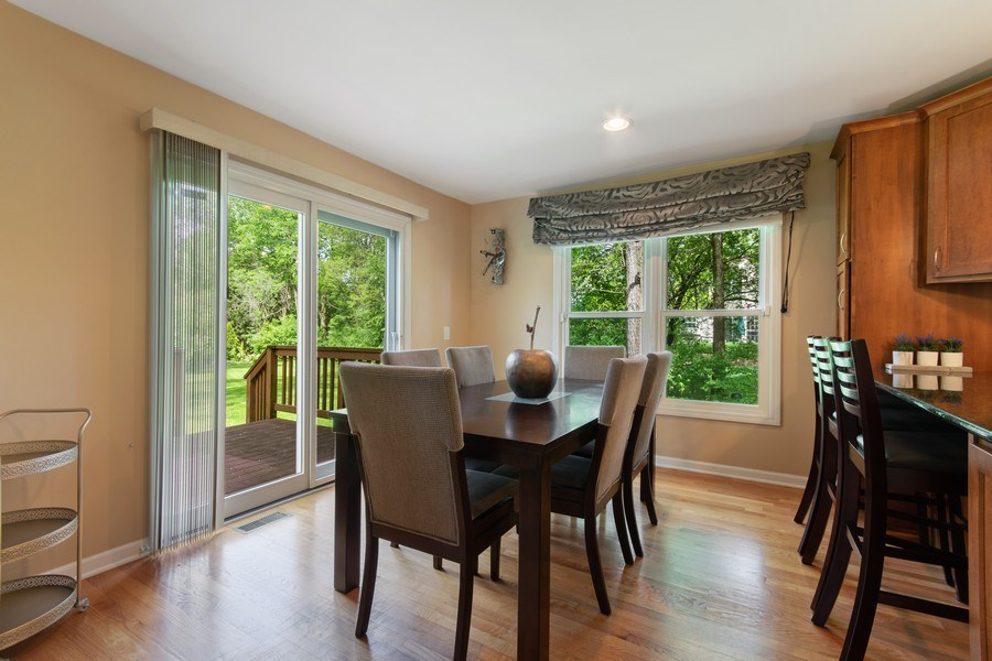 Real Estate Photography - 1513 Maple Hills Court, Naperville, IL, 60563 - Dining Room