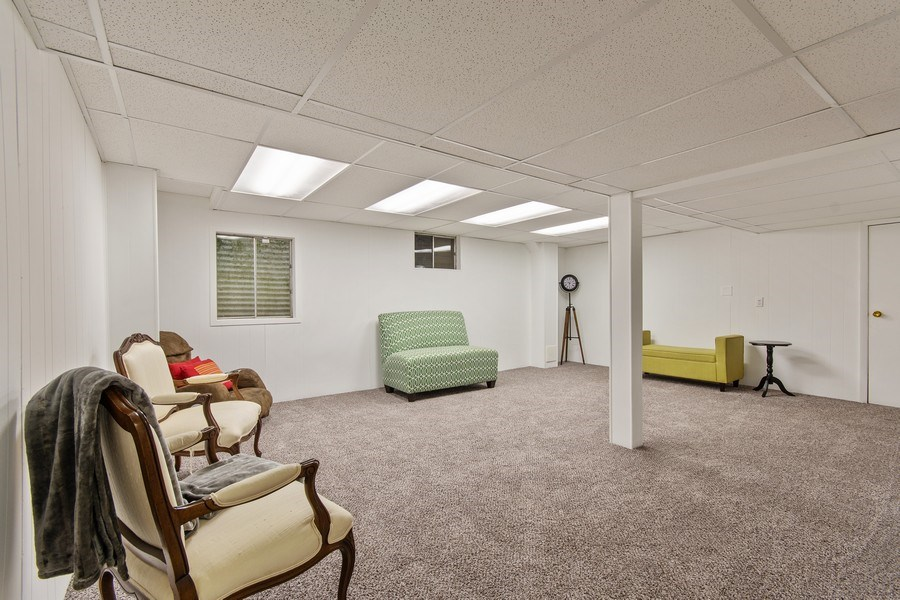 Real Estate Photography - 1513 Maple Hills Court, Naperville, IL, 60563 - Basement