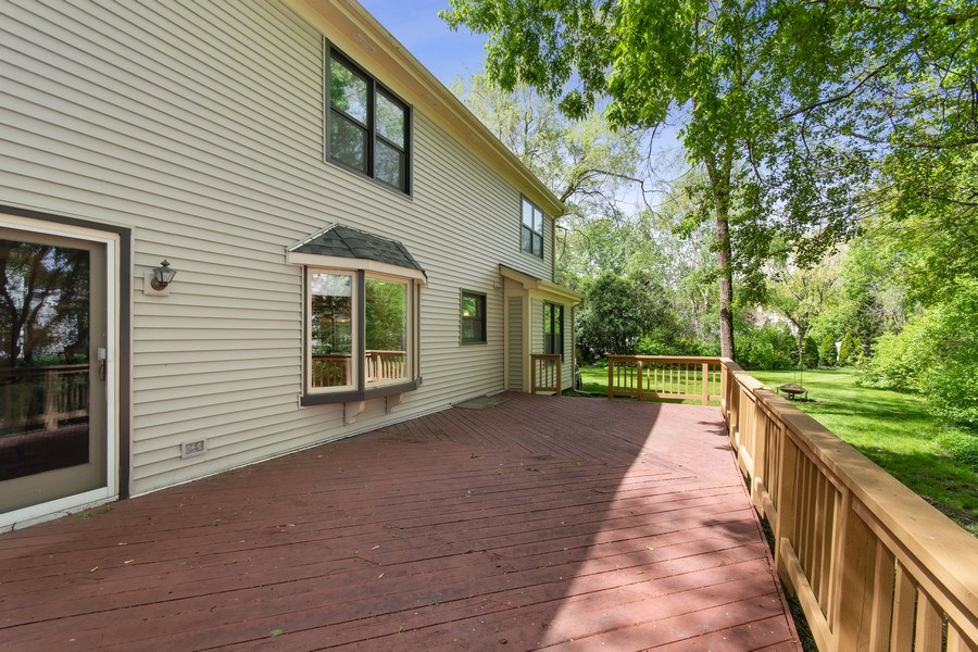 Real Estate Photography - 1513 Maple Hills Court, Naperville, IL, 60563 - Back Yard