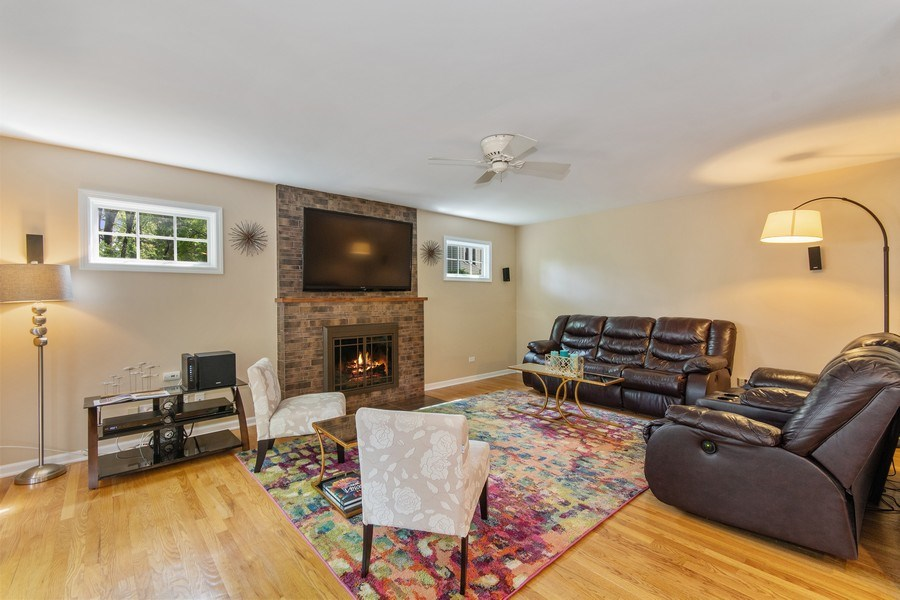 Real Estate Photography - 1513 Maple Hills Court, Naperville, IL, 60563 - Family Room
