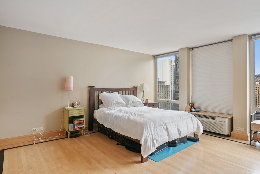 Real Estate Photography - 111 E. Chestnut Street, Unit 17C, Chicago, IL, 60611 - Master Bedroom