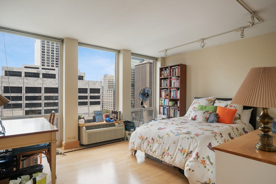 Real Estate Photography - 111 E. Chestnut Street, Unit 17C, Chicago, IL, 60611 - 2nd Bedroom