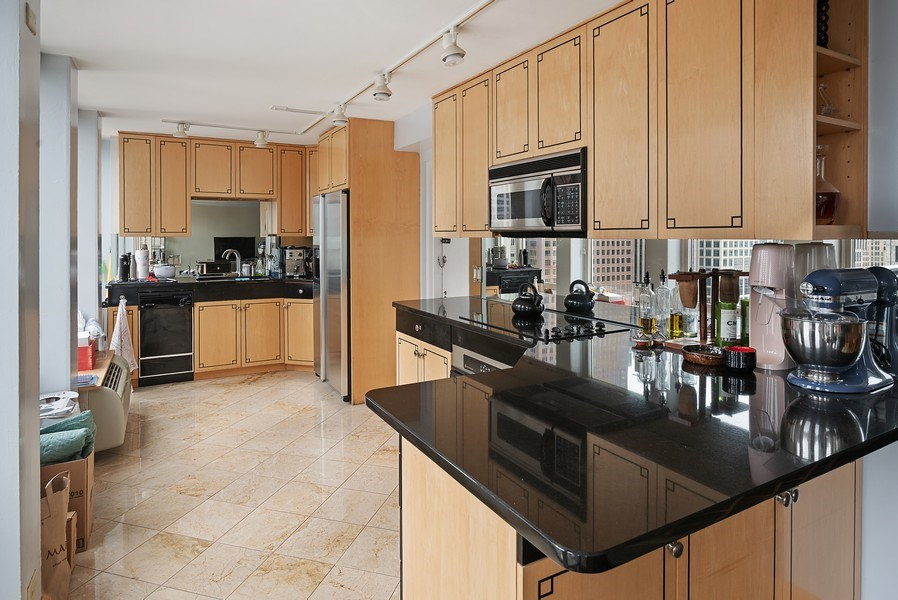 Real Estate Photography - 111 E. Chestnut Street, Unit 17C, Chicago, IL, 60611 - Kitchen