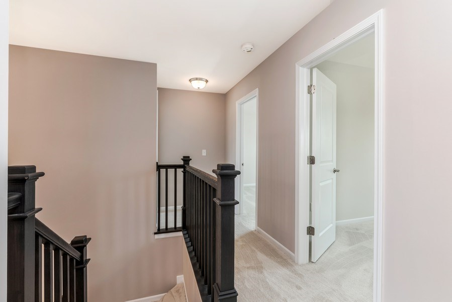 Real Estate Photography - 1588 Fairfield Drive, Elburn, IL, 60119 - Hallway