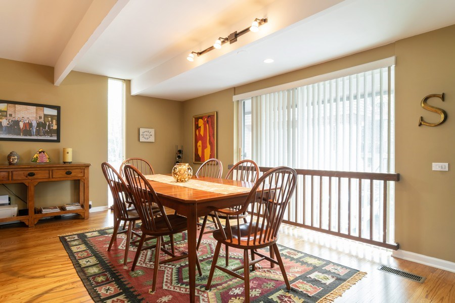 Real Estate Photography - 446 Lageschulte Street, Unit 1-446, Barrington, IL, 60010 - Dining Room
