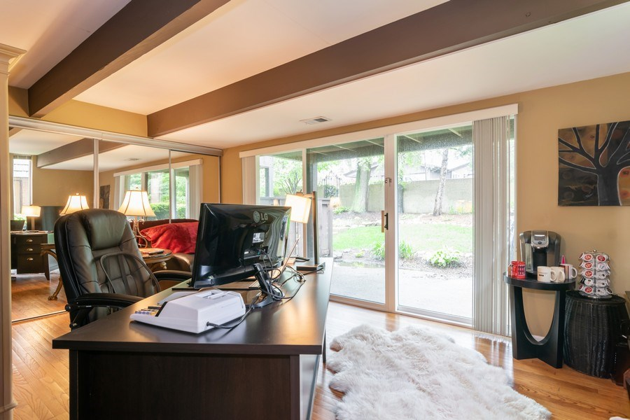 Real Estate Photography - 446 Lageschulte Street, Unit 1-446, Barrington, IL, 60010 - Family Room