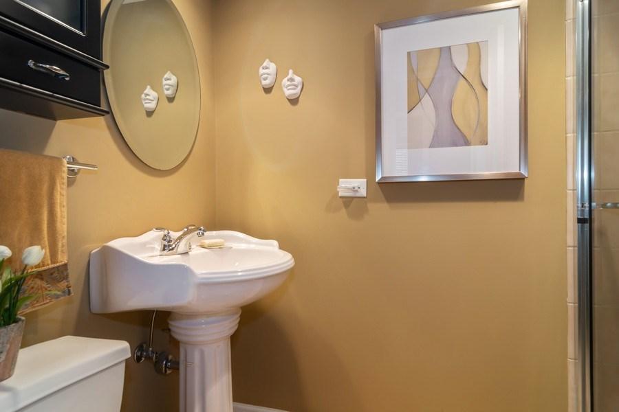 Real Estate Photography - 446 Lageschulte Street, Unit 1-446, Barrington, IL, 60010 - 3rd Full Bath