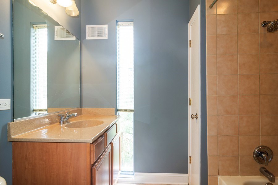 Real Estate Photography - 446 Lageschulte Street, Unit 1-446, Barrington, IL, 60010 - 2nd Bathroom