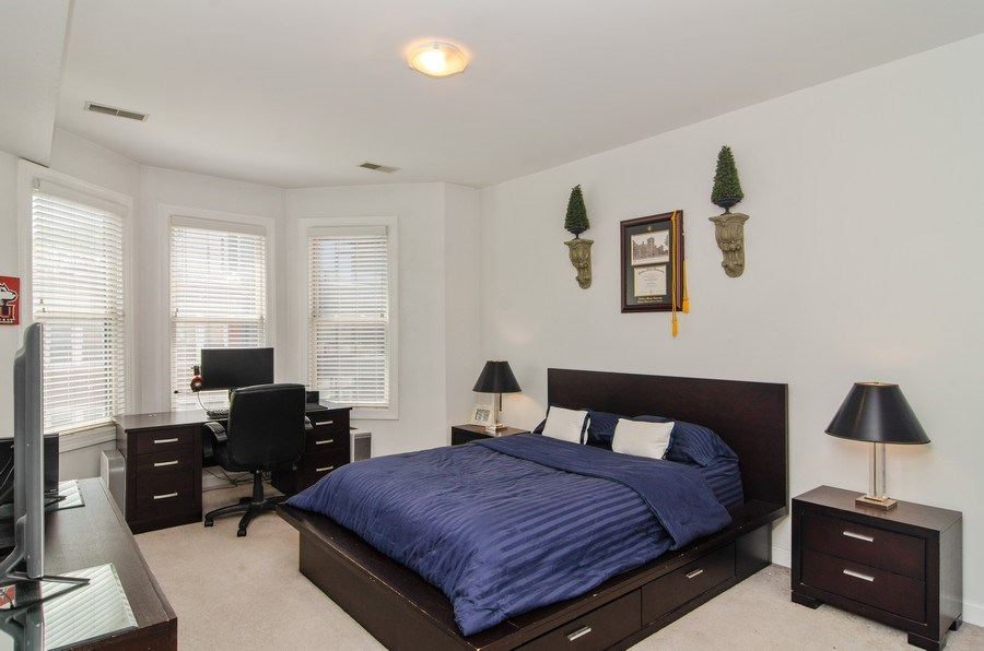 Real Estate Photography - 845 W. Altgeld Street, Unit 3B, Chicago, IL, 60614 - Bedroom