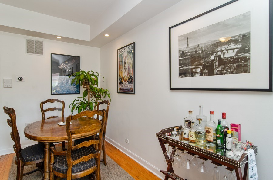 Real Estate Photography - 845 W. Altgeld Street, Unit 3B, Chicago, IL, 60614 - Dining Area