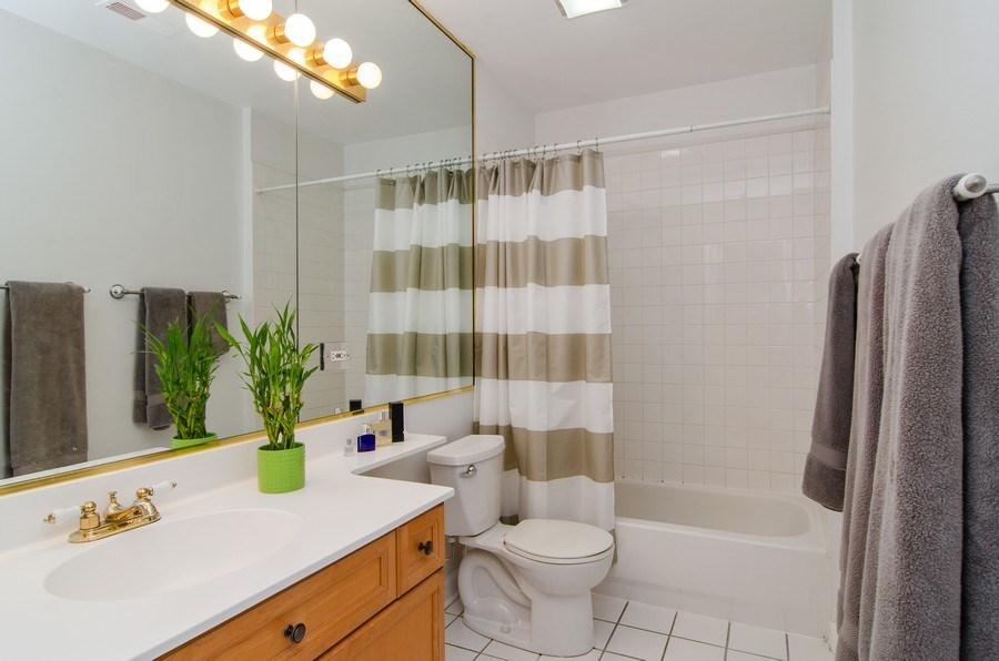 Real Estate Photography - 845 W. Altgeld Street, Unit 3B, Chicago, IL, 60614 - Bathroom