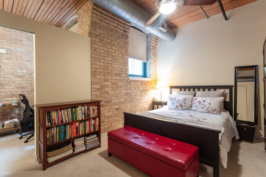 Real Estate Photography - 411 W. ONTARIO Street, Unit 608, Chicago, IL, 60654 - 2nd Bedroom