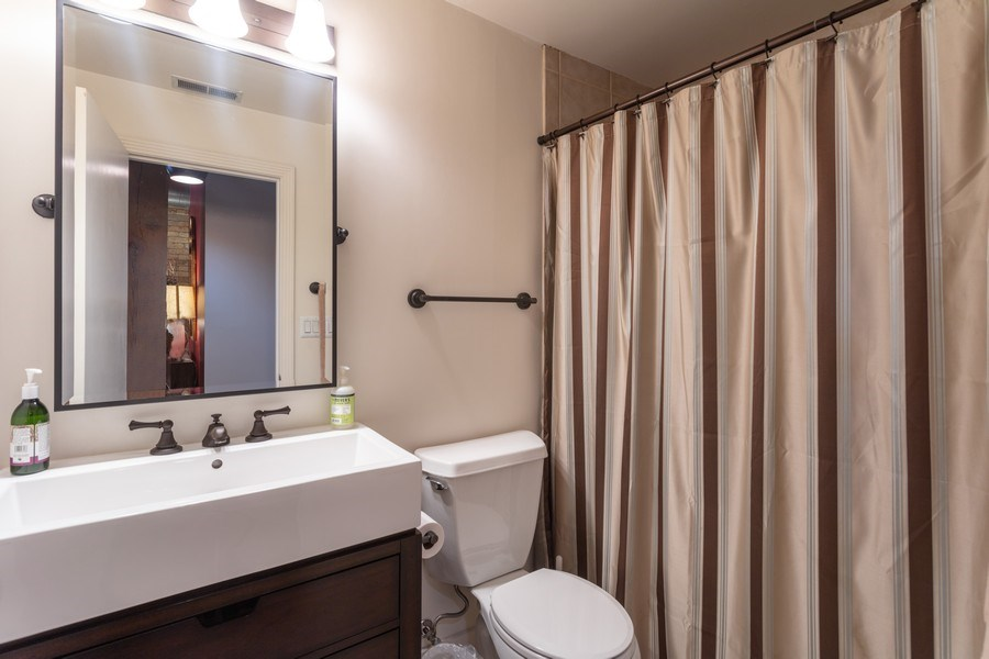 Real Estate Photography - 411 W. ONTARIO Street, Unit 608, Chicago, IL, 60654 - Second Bath