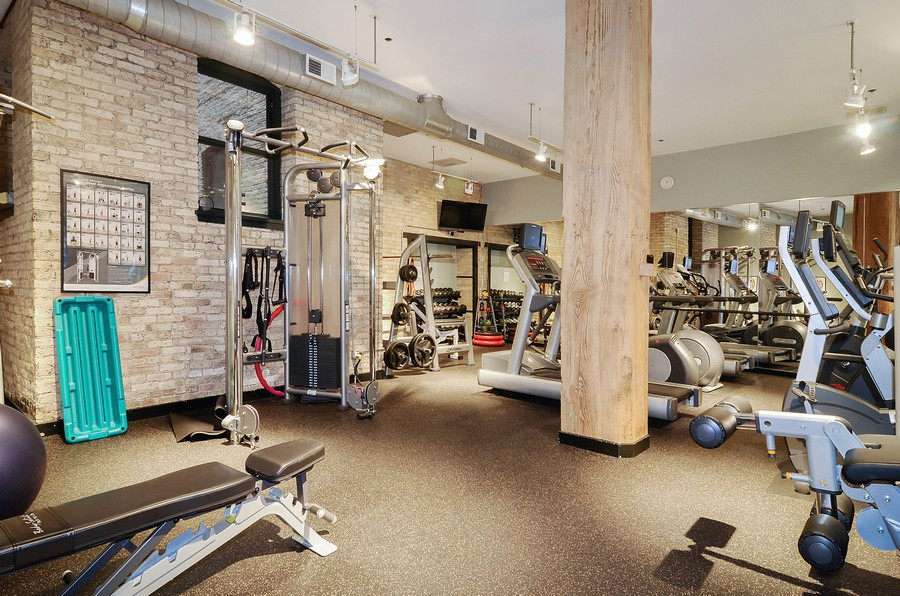 Real Estate Photography - 411 W. ONTARIO Street, Unit 608, Chicago, IL, 60654 - Exercise Center