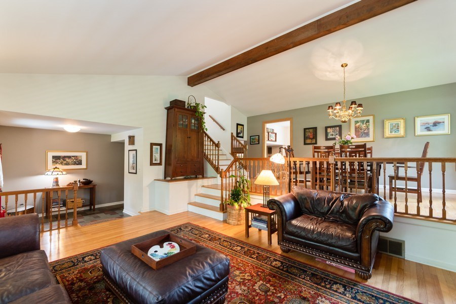 Real Estate Photography - 12325 S. 90th Avenue, Palos Park, IL, 60464 - Living Room