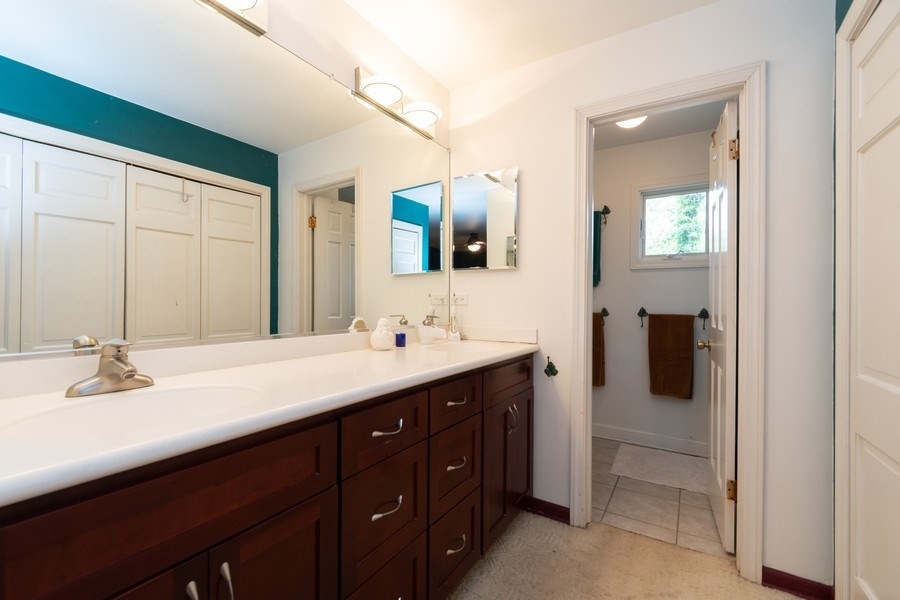 Real Estate Photography - 12325 S. 90th Avenue, Palos Park, IL, 60464 - Master Bathroom