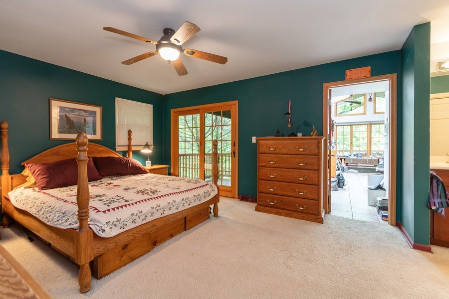 Real Estate Photography - 12325 S. 90th Avenue, Palos Park, IL, 60464 - Master Bedroom