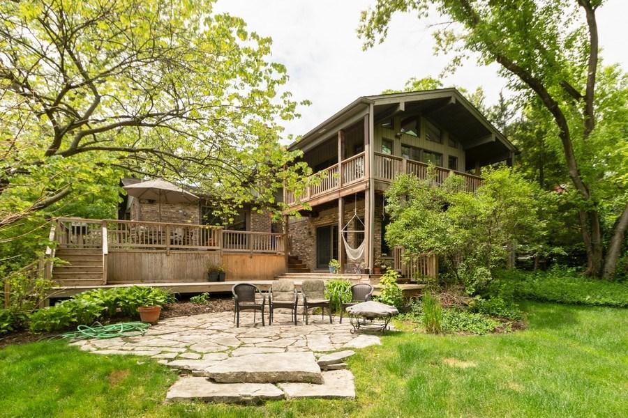 Real Estate Photography - 12325 S. 90th Avenue, Palos Park, IL, 60464 - Rear View