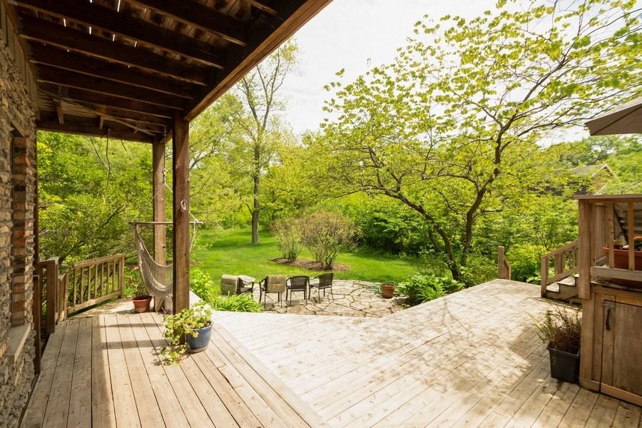Real Estate Photography - 12325 S. 90th Avenue, Palos Park, IL, 60464 - Deck