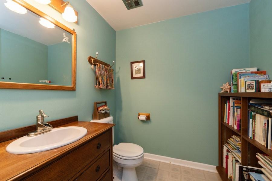 Real Estate Photography - 12325 S. 90th Avenue, Palos Park, IL, 60464 - Half Bath