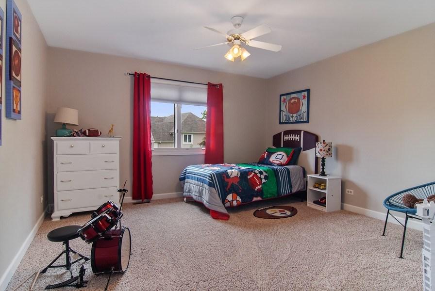 Real Estate Photography - 2324 Sutton Lane, Aurora, IL, 60502 - 2nd Bedroom