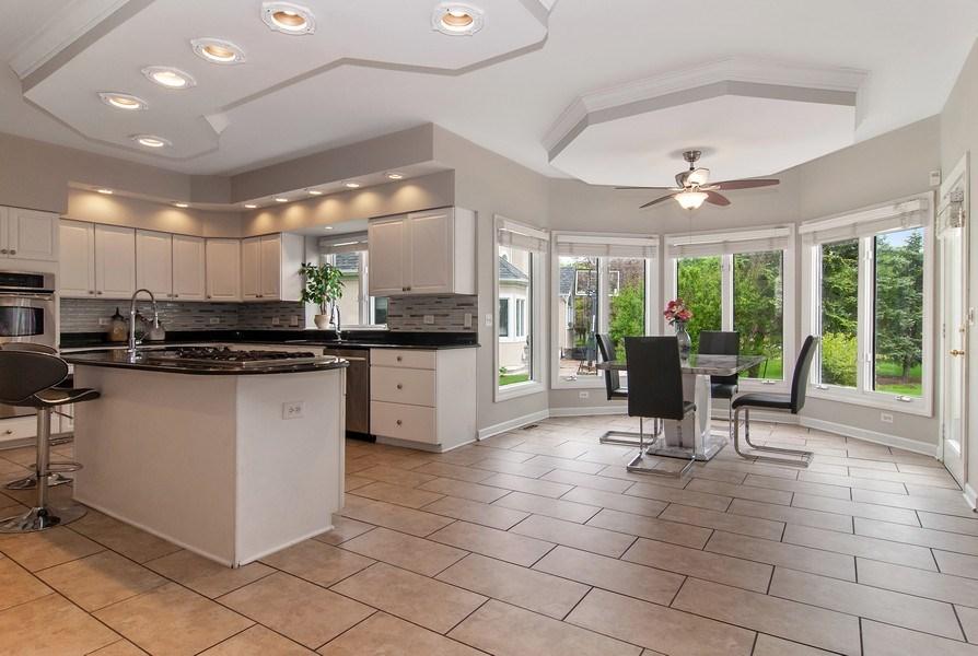 Real Estate Photography - 2324 Sutton Lane, Aurora, IL, 60502 - Kitchen / Breakfast Room