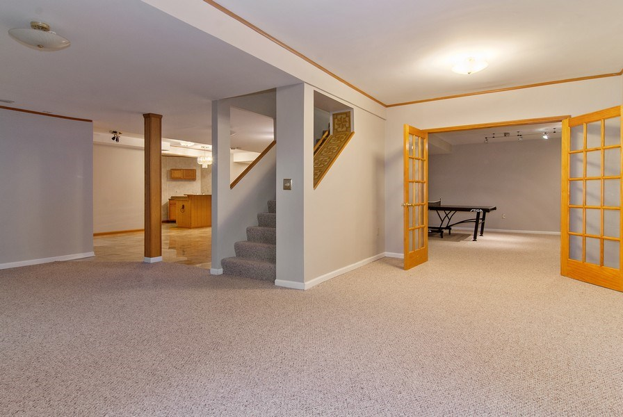 Real Estate Photography - 2324 Sutton Lane, Aurora, IL, 60502 - Basement