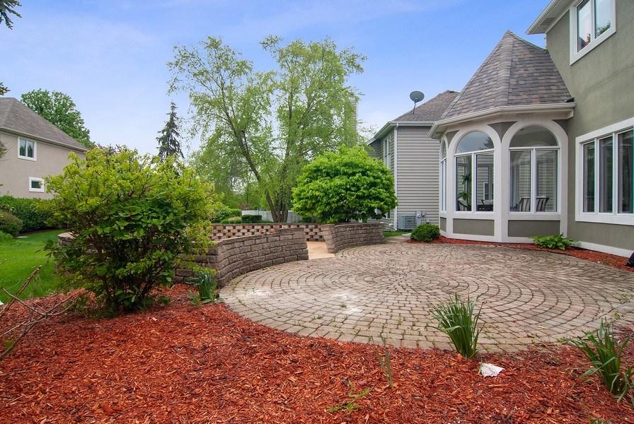 Real Estate Photography - 2324 Sutton Lane, Aurora, IL, 60502 - Back Yard
