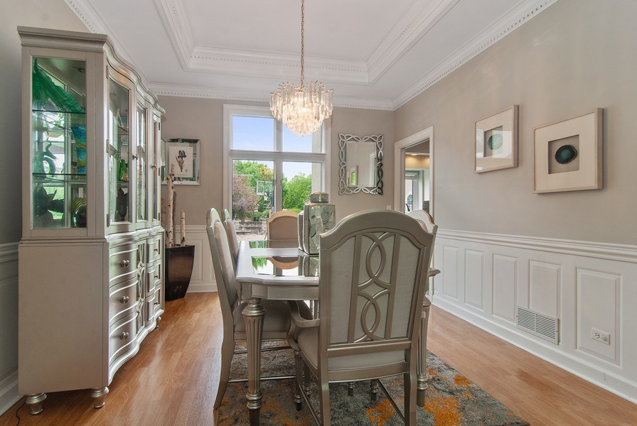 Real Estate Photography - 2324 Sutton Lane, Aurora, IL, 60502 - Dining Room