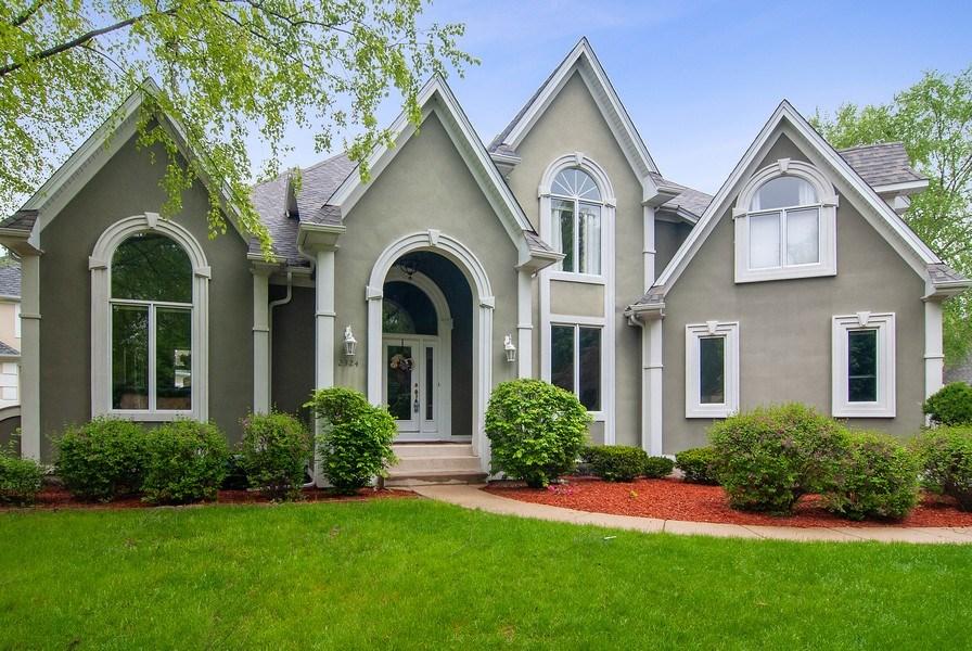 Real Estate Photography - 2324 Sutton Lane, Aurora, IL, 60502 - Front View