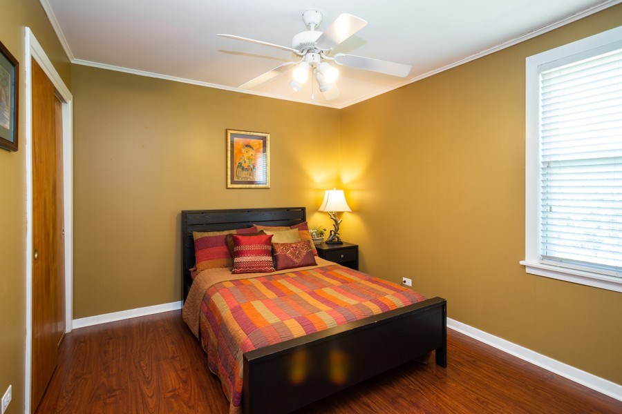 Real Estate Photography - 929 Woodlawn Avenue, Des Plaines, IL, 60016 - Master Bedroom