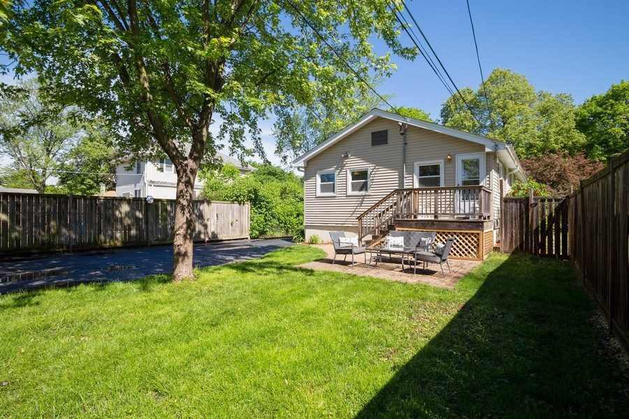 Real Estate Photography - 929 Woodlawn Avenue, Des Plaines, IL, 60016 - Rear View