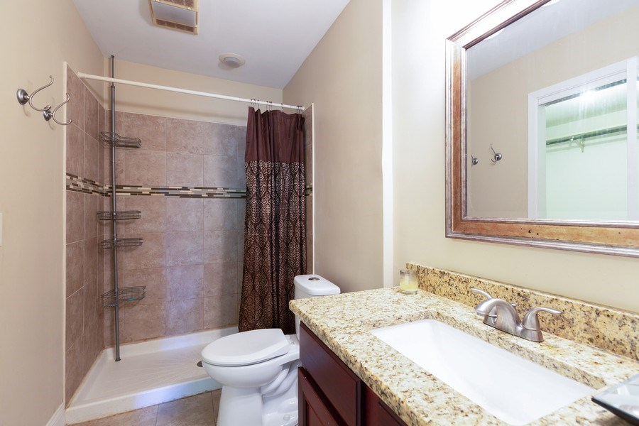 Real Estate Photography - 550 Woodmar Lane, Crystal Lake, IL, 60012 - Master Bathroom