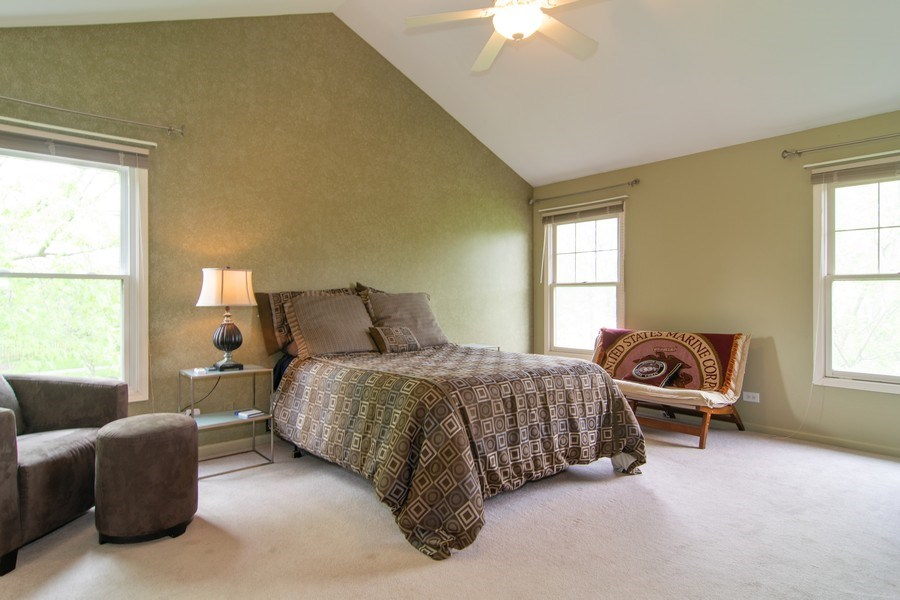 Real Estate Photography - 1432 Steeplechase Road, Bartlett, IL, 60103 - Master Bedroom