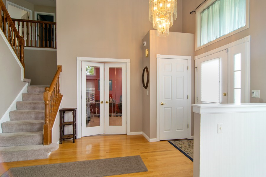Real Estate Photography - 1432 Steeplechase Road, Bartlett, IL, 60103 - Foyer