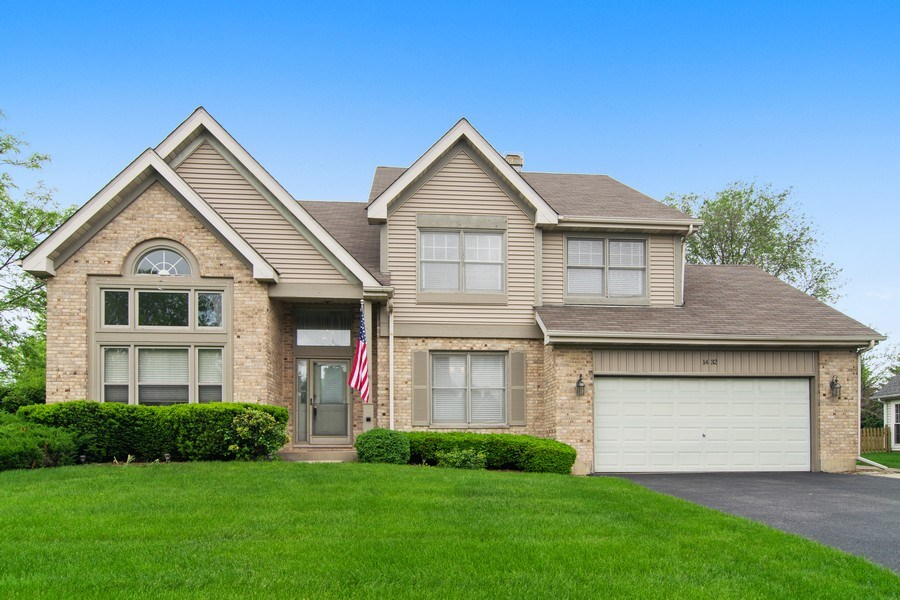 Real Estate Photography - 1432 Steeplechase Road, Bartlett, IL, 60103 - Front View