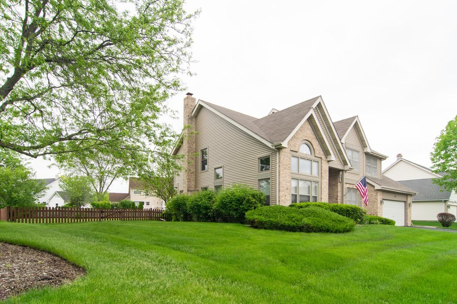 Real Estate Photography - 1432 Steeplechase Road, Bartlett, IL, 60103 - Side View