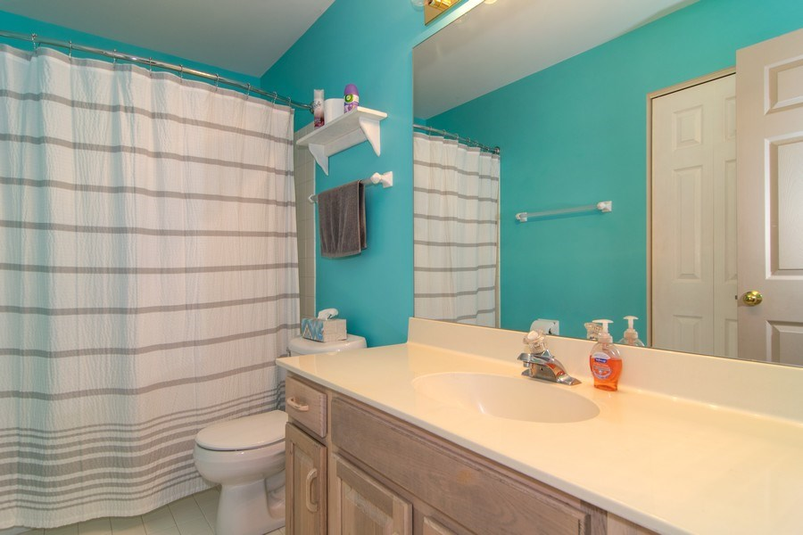 Real Estate Photography - 1432 Steeplechase Road, Bartlett, IL, 60103 - Bathroom