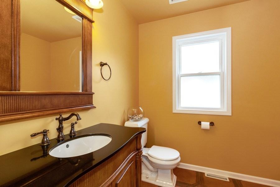 Real Estate Photography - 634 S. Princeton Avenue, Villa Park, IL, 60181 - Powder Room